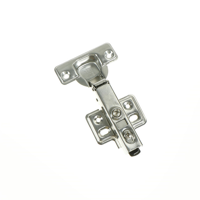 1PC Soft Close Full Overlay Hydraulic Hinges Cabinet 35mm Kitchen Door Hinge  Cup Half Overlay Insert