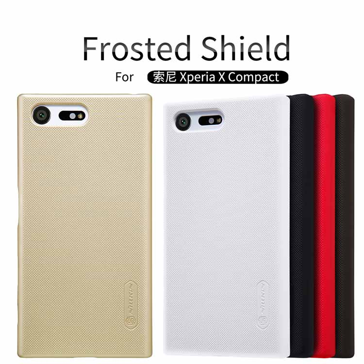 case for sony xperia x compact 4 6 inch NILLKIN Frosted font b PC b font