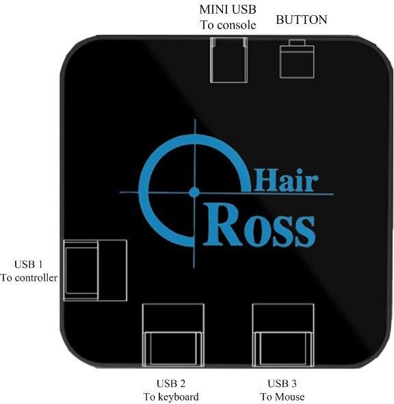 Reasnow CrossHair souris et clavier Convertisseur Adaptateur pour PS4/PS3/XBOXONE/XBOX 360/Commutateur - 2