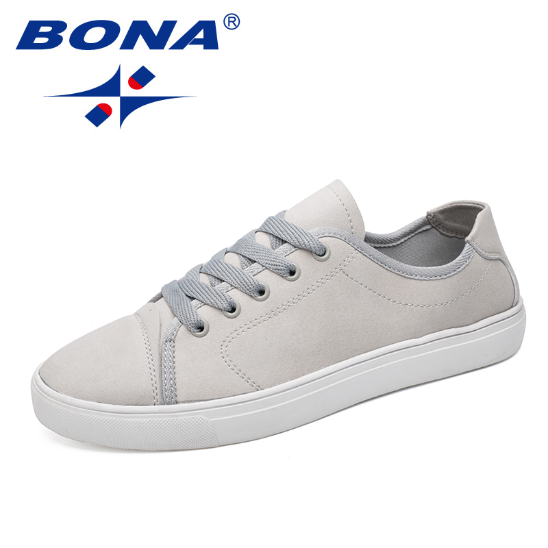 BONA New Popular Style Men Skateboarding Shoes Outdoor Jogging Sneakers Comfortable Sport Shoes Light Soft Fast