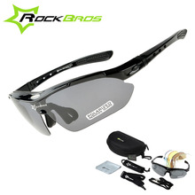 Hot! New 2014 RockBros Polarized 5 Lens Cycling Sun Glasses Outdoor Sports Bicycle ciclismo Bike Sunglasses TR90 Eyewear Goggles цена в Москве и Питере