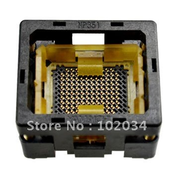 100% NEW NP351 BGA116  IC Test Socket / Programmer Adapter / Burn-in Socket(NP351-140-100) 1pcs xc3s1600e 5fg484c xc3s1600efg484 ic fpga 376 i o 484fbga bga in stock 100%new and original