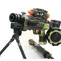 Pistola de juguete eléctrico desarrollado acústico-óptico ametralladora pistola de juguete pistola de juguete chico pistola hotchkiss
