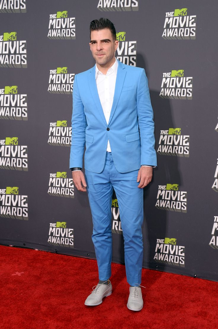 Latest Coat Pant Designs Light Blue Linen Casual Red Carpet Suit For ...