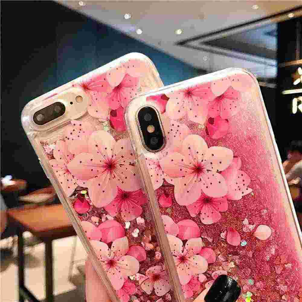 Obudowa do Xiaomi Redmi Note 6 Pro przypadku płyn różowy pokrywa dla Redmi Note 5 Pro 5A 4X 4A przypadku dla xiaomi redmi 6A 6 5 Plus S2 pokrywa