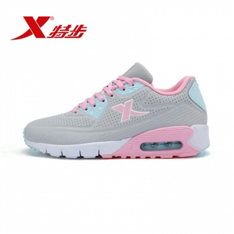 Prix pour Xtep marque d'été printemps rétro rose cerise fleurs sneakers femme planche à roulettes sport chaussures livraison gratuite 983118325928