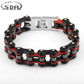 SDA Trendy  Male Motorcycle Chain& Biker Chain Bracelets, 316L Stainless Steel Jewelry For Men Unique Style YM086