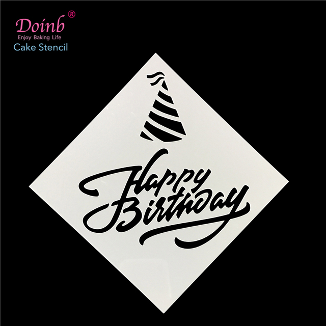 Brief Alles Gute Zum Geburtstag Tiramisu Kunststoff Spray Blume