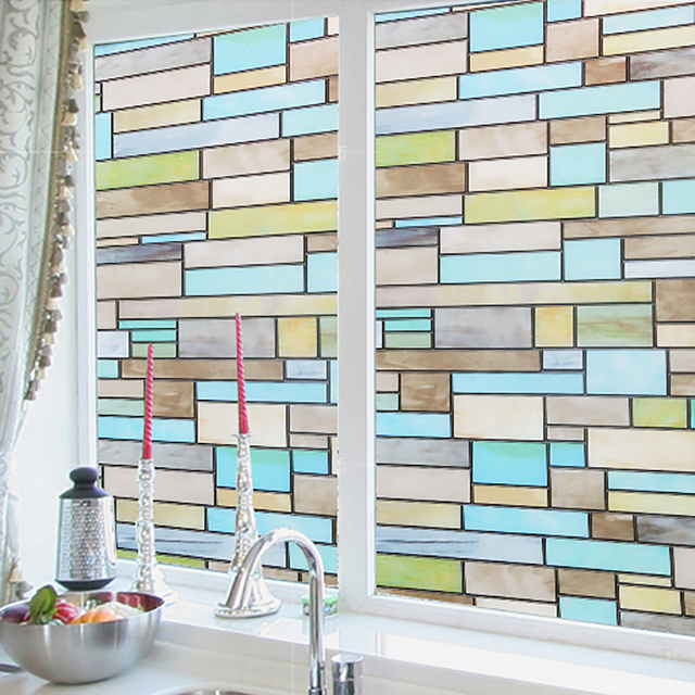 45*200 Glass Films Frosted Glass Window Film Privacy Glass Stickers Home  Decor Bathroom Glasses