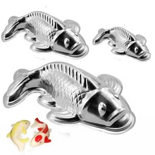 Cake Decorating Tool Chinese Style 3-Dimensional Small Carp Mould Niangao Pudding Mold Baking