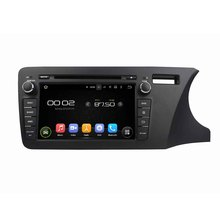 8 Octa core Android 6 0 Car DVD Player For Honda CITY 2014 Right Free MAP