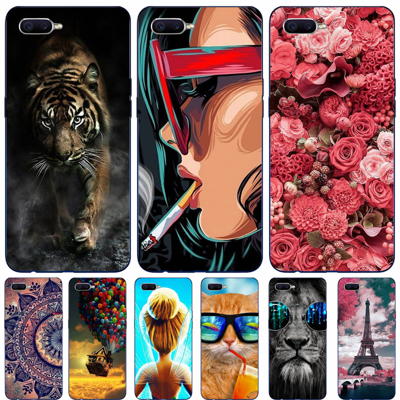 Coque For OPPO RX17 Neo Case 3D Printing Silicone Cover Soft TPU Phone Case For OPPO RX17 Neo Cover Hoesje RX 17 Neo RX17Neo