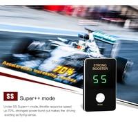 Mini 8 mode 2017 Car drive electronic throttle controller accelerate for Kia K3 Hyundai Elantra 1.6 RIO Dongfeng Fengguang 580
