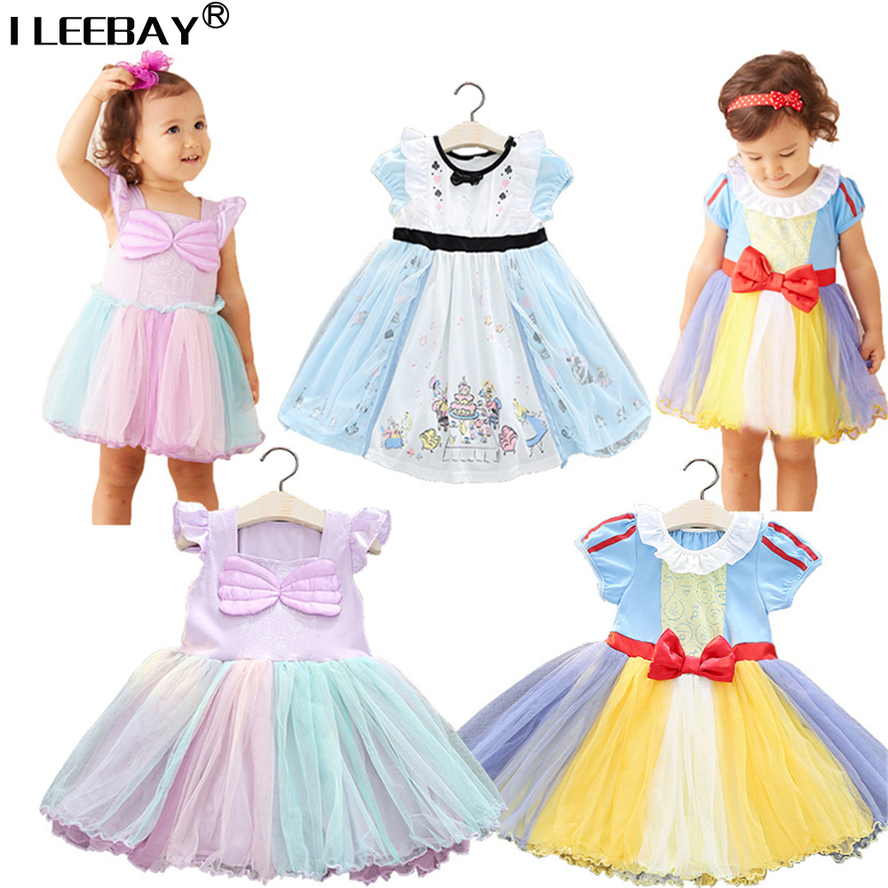 Baby Clothes Little Girl Princess Dress for Christmas /Halloween Party Kids Girls Gown Snow White Alice Gown Cosplay Vestioes 2016 snow white dirndl princess cinderella cosplay purple costume fancy oktoberfest dress for baby girl christmas halloween