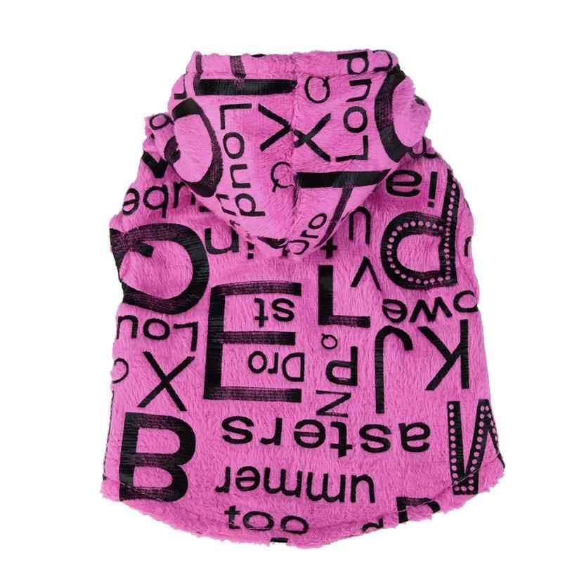 Новая собачья одежда собаки рубашка собаки любимчика теплая новорожденная собака плюшевый жилет Зимняя одежда костюм любимчика 3,27