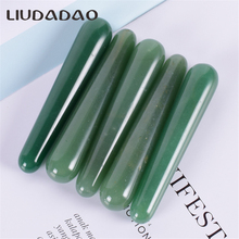Natural Green Aventurine Yoni Wands For Women Massage Crystal Acupoint Stick Face Massager