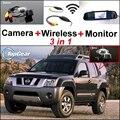 3 in1 Rückfahrkamera Spezial + Wireless Receiver + Spiegel Monitor Sichern Parkplatz System Für Nissan Roniz 2005 ~ 2015-in Fahrzeugkamera aus Kraftfahrzeuge und Motorräder bei