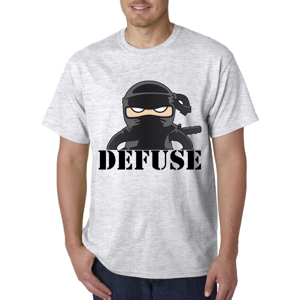 CS Go Counter Strike Defuser Gaming Shooting Funny T-Shirt - Best Birthday Gift Movie Sh ...