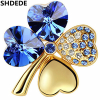 Wholesale Costume Jewelry Brooches Crystal From Swarovski Vintage Brooches For Women 11179