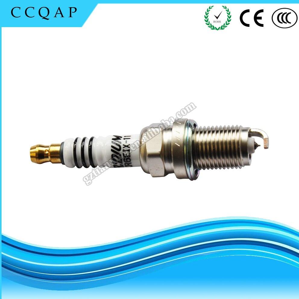 Free shipping BKR6EIX-11 4272 Iridium Spark Plugs For Toyota Lexus Suzuki Subaru BKR6EIX 11 iridium spark plugs 4 pack