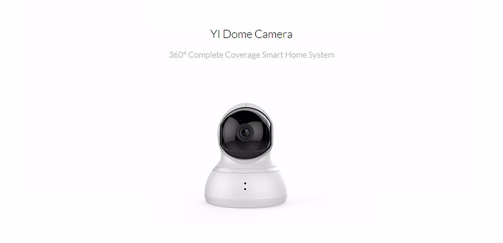 YI DOME HOME CAMERA XIAOYI IP CAMERA WIFI WEBCAM TWO-WAY AUDIO NIGHT VISION 209020 5