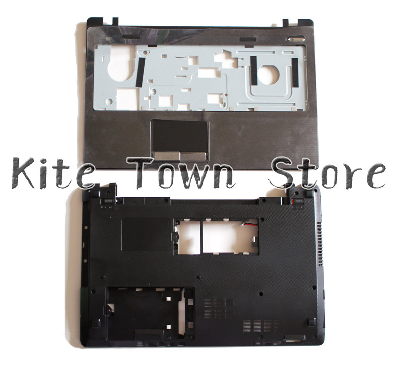 NEW For Asus A53U X53U K53 K53U K53T Series Bottom Base Case Cover & Palmrest Upper Case new palmrest upper case bezel top case touchpad cover for asus k53 k53t k53u x53u x53b k53b a53u x53z c cover ap0k3000200
