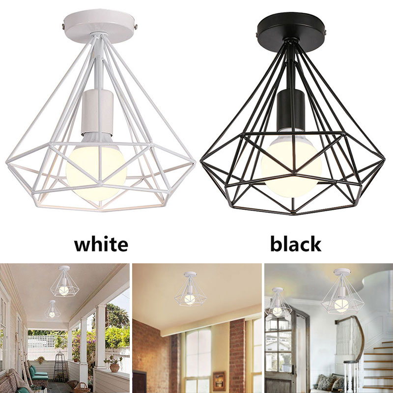 Living Room Recessed Ceiling Lights E27 Scandinavian Minimalist Parlor Chandelier Dreamlike HangLamp Bedroom Retro Hanging Lamp