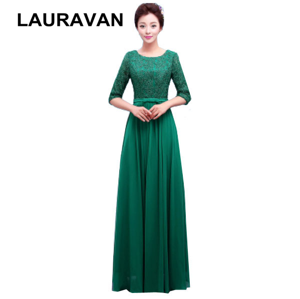 chiffon vestidos formales long dark red womens   bridesmaid     dresses   2019 new arrival sexy champagne green light blue for wedding