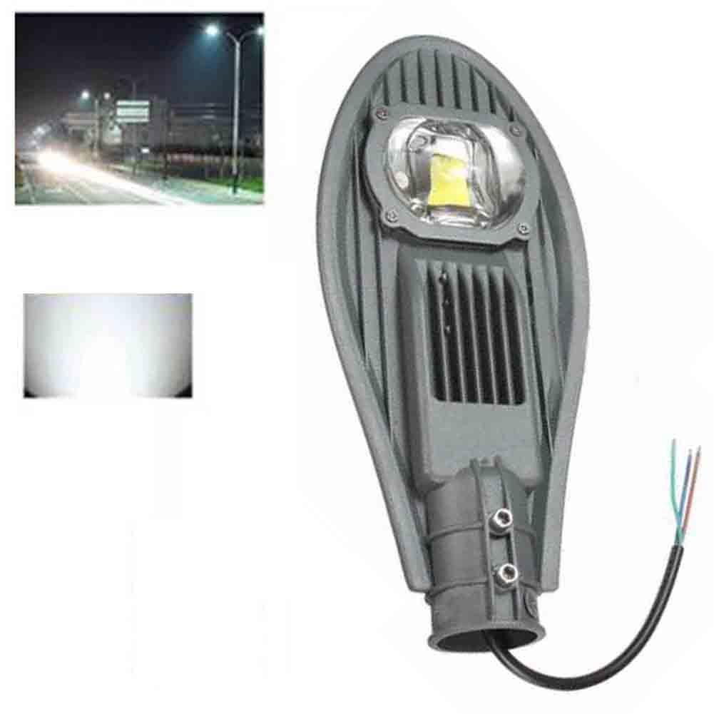 1PC 30W Solar LED Road Street Flood Light Industrial Lamp Outdoor Garden Yard 220V IP65 Warm White/ White