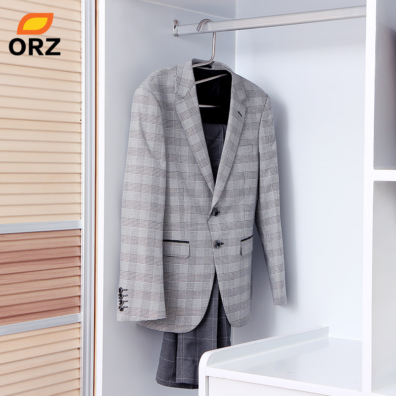 ORZ Metal Coats Pants Hanger Multifunctional Wardrode Chest Clothes  Organizer Holder Rack Trousers Suit Office Storage Hanger In Hangers U0026  Racks From Home ...
