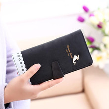Women's Wallet's Dolphin Purse Day Clutch Bag Ladies Card Holder Women's Purse Visiting Cards Wallet Women Feminino #9842