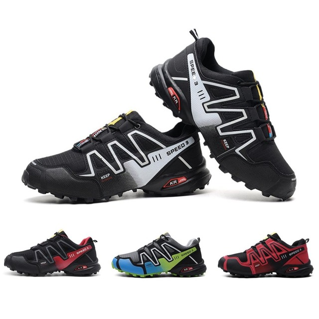 OUTAD Hiking Shoes Men's Speed 3 Athletic Outdoor Sports Hiking Mountaineering