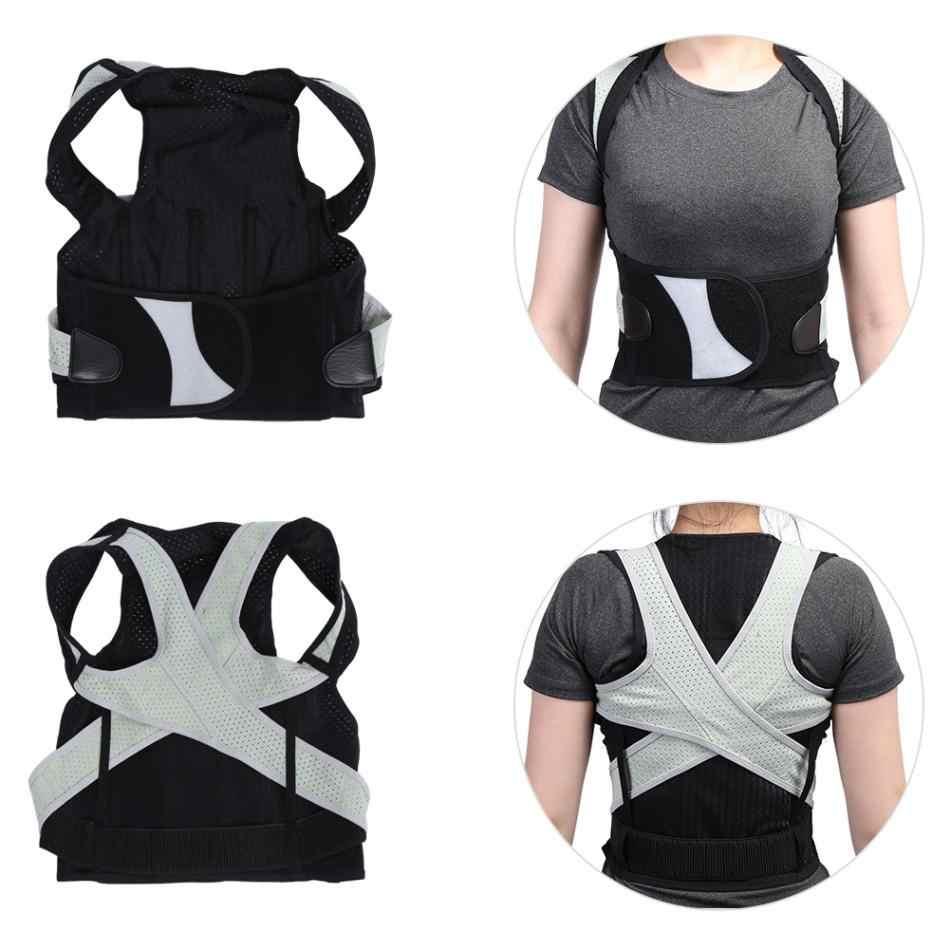 317e2847c4e ... Posture Corrector Back Support Belt Women Men Students Back Corset  Spine Support Orthopedic Shoulder Braces Posture ...