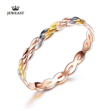 18K Pure gold ring real AU 750 solid gold Rings good beautiful upscale trendy Classic party fine jewelry hot sell new 2020