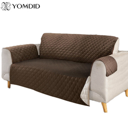 1 шт. полиэстер диван покрытие противоскольжения грязь-доказательство диван протектор диване кресло чехлов мебель кресло протектор 1 /2/3 мес...