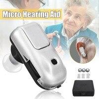 Супер Мини слуховой аппарат слуховые аппараты устройство в ухо дешевый усилитель звука для глухих ушных звуковых усилителей