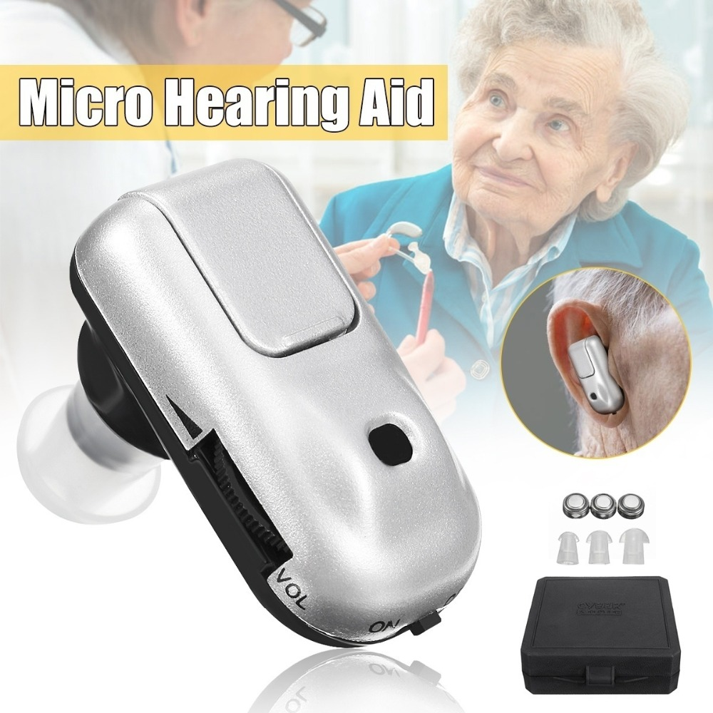 Super MINI Hearing Aid Hearing Aids Device In-ear Cheap Sound Amplifier for the deaf ear sound voice amplifier купить в Москве 2019