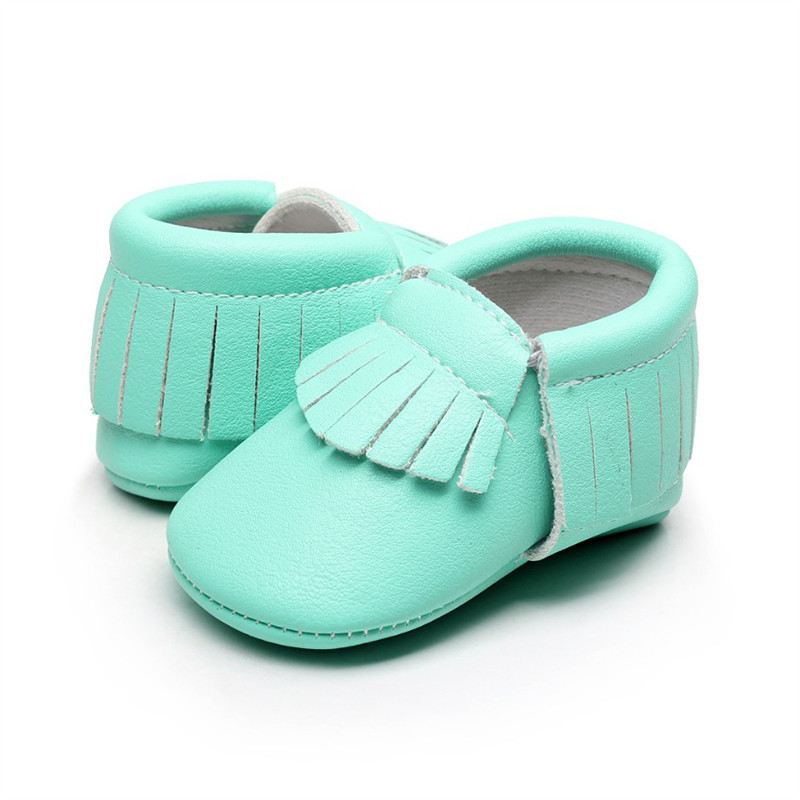 Hongteya Pu Leather Baby Moccasins Bulk Spring New Fringe Cheap Baby Shoes For Boys Girls Newborn Infant Chaussures Bebe Shoes