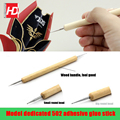 Model making tool Gundam military model Stainless steel precision dispensing 502 Glue Dispensing rods Click on the stick