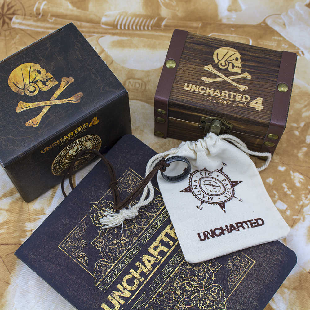 Uncharted 3 Anime Game Francis Drake Limited Collector S Edition