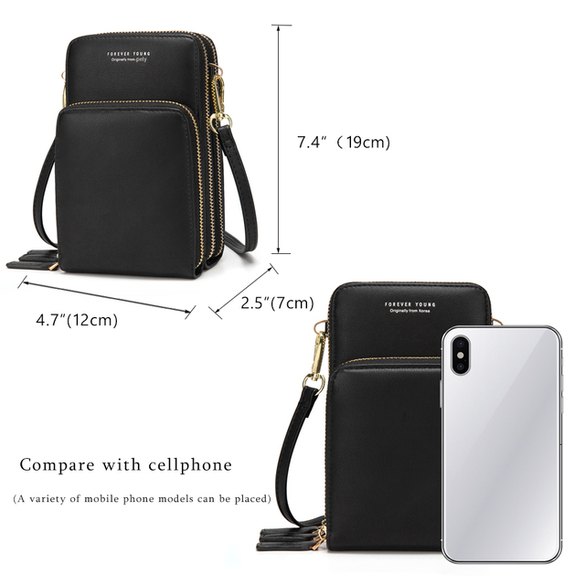 New Arrival Colorful Cellphone Bag Fashion Daily Use Card Holder Small Summer Shoulder Bag for Women 5