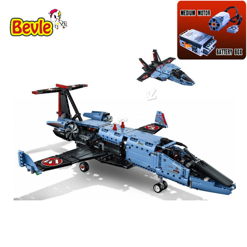 2017 New Arrival 20031 1151pcs Technic Series The jet racing aircraft Model Building Kits Brick Toy Compatible with  42066 lepin 20031 technic the jet racing aircraft 42066 building blocks model toys for children compatible with lego gift set kids