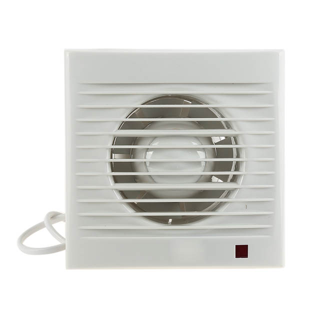 Placeholder Abs Mini Wall Window Exhaust Fan Bathroom Kitchen Toilets Intervent White Extractor Air Vent Electric