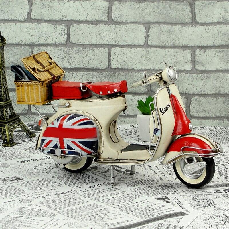 1959 Vespa Modell Vintage Metall Motorrad Modell Roman Holiday