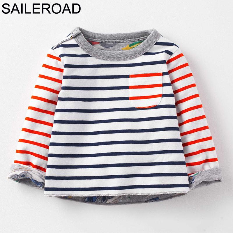 HTB16dTZi.QIL1JjSZFhq6yDZFXaI - SAILEROAD New 2018 Spring Baby Kids Boys Girls Long Sleeve T Shirt Autumn Children Boys Girl's Blouse Shirts Cotton 100%