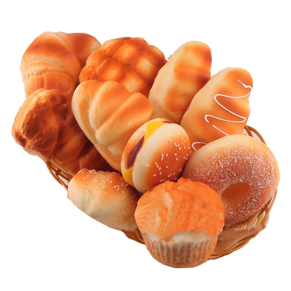 SAINTGI Squishy Моделирование Хлеб украшения модель торт pudcoco игрушки Фрукты слизь Jumbo крем Ароматические замедлить рост приспособления для сняти...