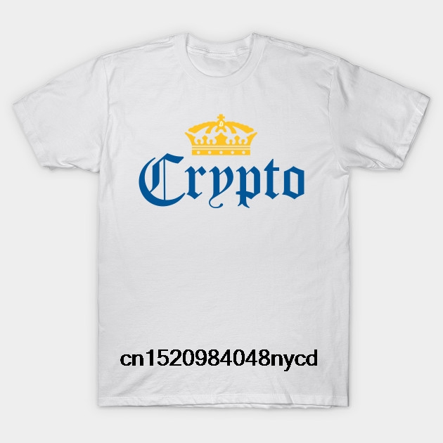 a5471fa79 Printed Men T Shirt Cotton tShirt O Neck Short Sleeve New Style Crypto  Corona Cryptocurrency Women T Shirt-in T-Shirts from Women's Clothing on ...