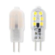 5PCS G4 LED Lamp 3W AC/DC 12V 220V Mini LED G4 Bulb SMD 2835 Replace Halogen Crystal Chandelier Lamp(China)