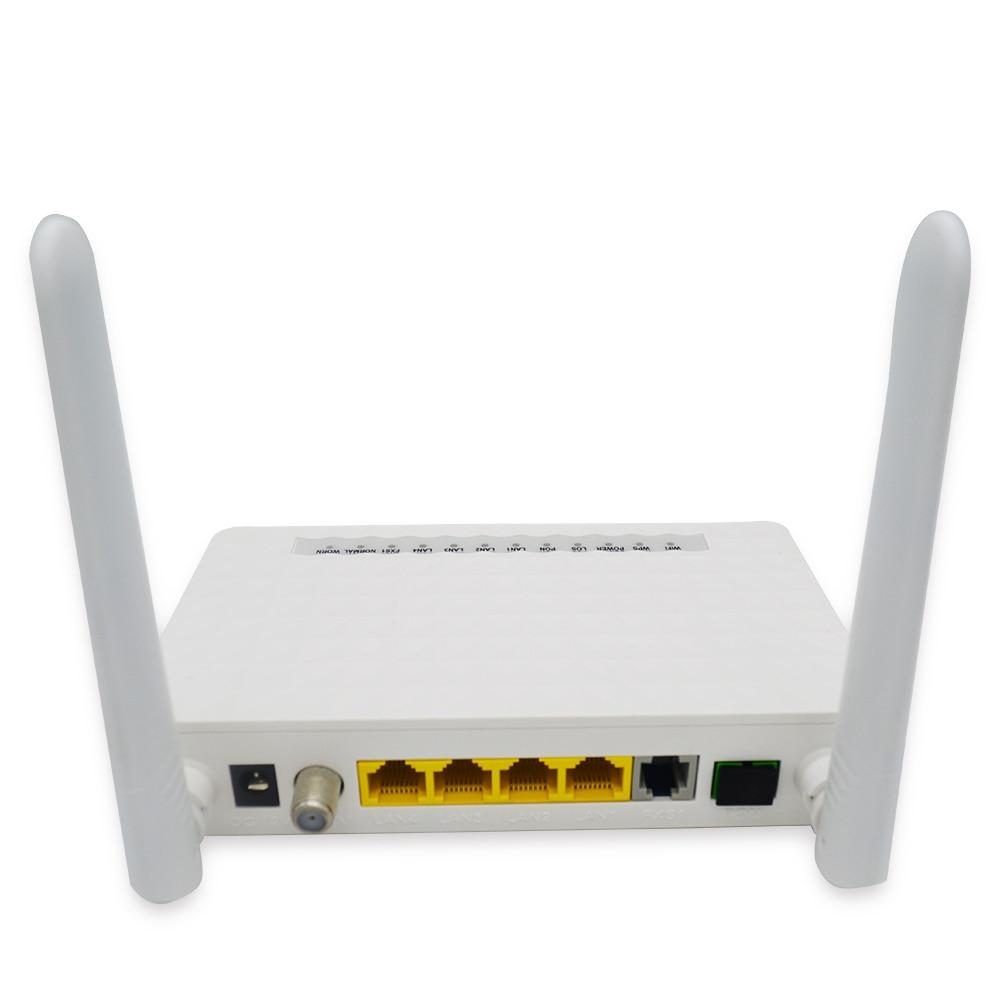 XPON ONU ONT 4 ports + Wifi + Catv xpon double mode gpon/epon onu
