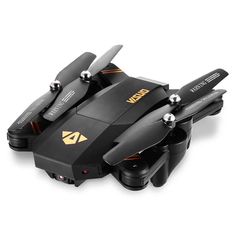 VISUO Xs809HW Xs809W Foldable Drone with Camera HD 2MP Wide Angle WIFI FPV Altitude Hold RC Quadcopter Helicopter VS H47 Dron 10